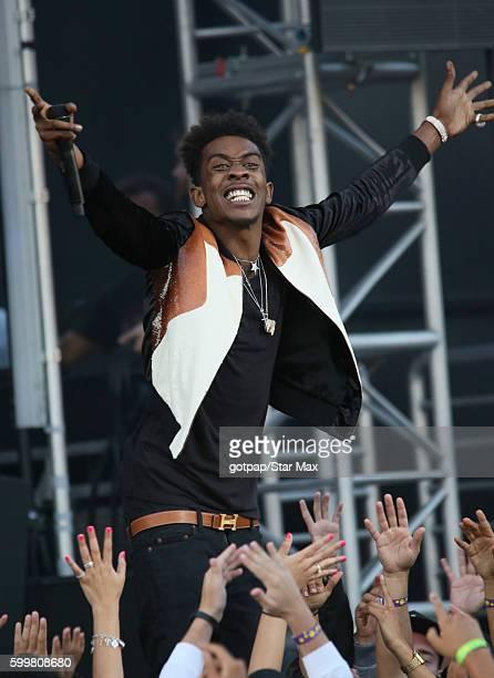 Rapper Desiigner is seen on September 6 2016 at Jimmy Kimmel Live in Los Angeles CA