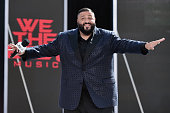 Rapper DJ Khaled performs before the 2016 BET Awards at the Microsoft Theater on June 26 2016 in Los Angeles California