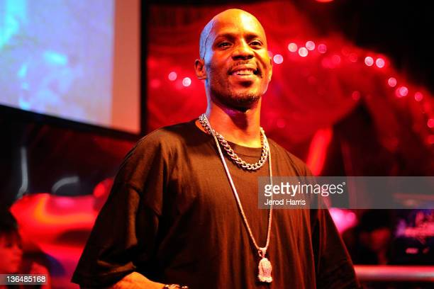 Rapper DMX performs at the DGK Agenda Party at Cafe Sevilla on January 5 2012 in Long Beach California