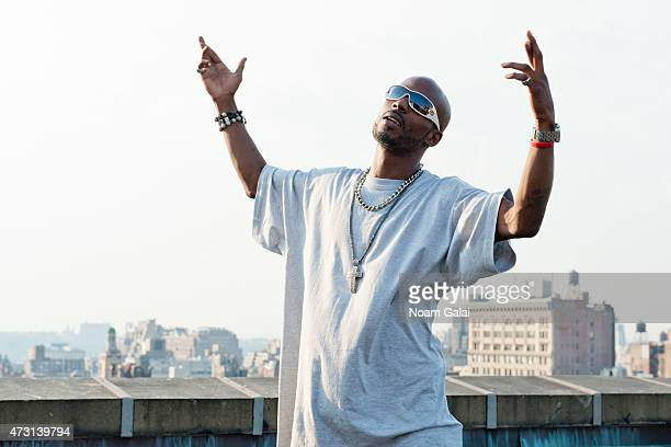 Rapper DMX poses for a portrait shoot on August 23 2012 in New York City