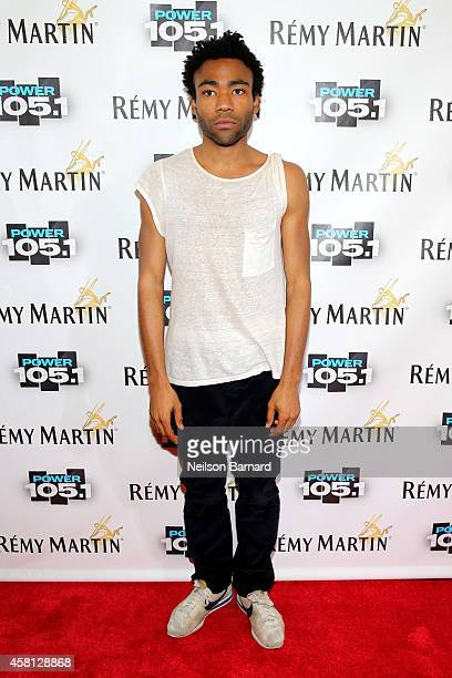Rapper Donald 'Childish Gambino' Glover attends Power 1051's Powerhouse 2014 at Barclays Center of Brooklyn on October 30 2014 in New York City