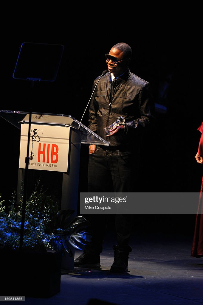 Rapper Doug E. Fresh attends The Hip Hop Inaugural Ball II sponsored by Heineken USA at Harman Center for the Arts on January 20, 2013 in Washington, DC.