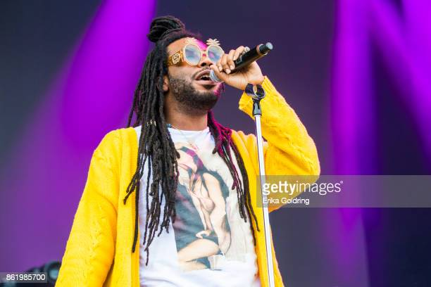 Rapper DRAM performs during Austin City Limits Festival at Zilker Park on October 15 2017 in Austin Texas