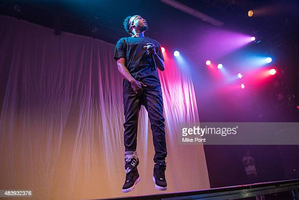 Rapper DubO performs in concert at Best Buy Theater on August 13 2015 in New York City