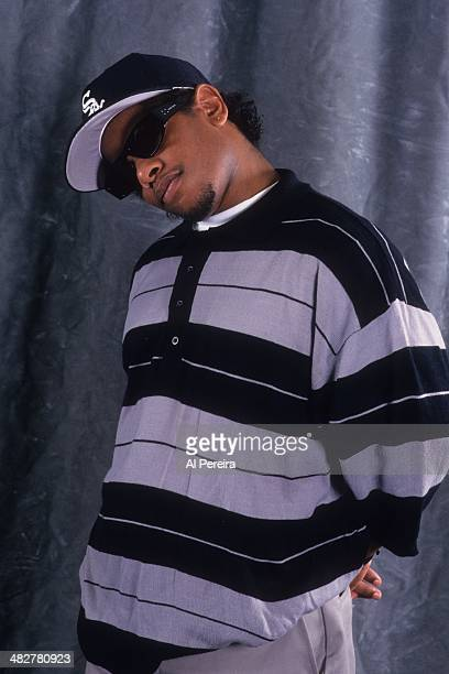 Rapper EazyE poses for a portrait in 1993 in New York New York