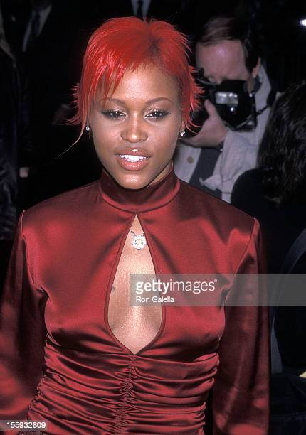 Rapper Eve attends the 14th Annual Essence Awards on April 27 2001 at Madison Square Garden in New York City