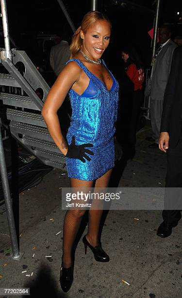 NEW YORK OCTOBER 04 Rapper Eve during the 2007 Vh1 Hip Hop Honors at Hammerstein Ballroom on October 4 2007 in New York City *EXCLUSIVE*
