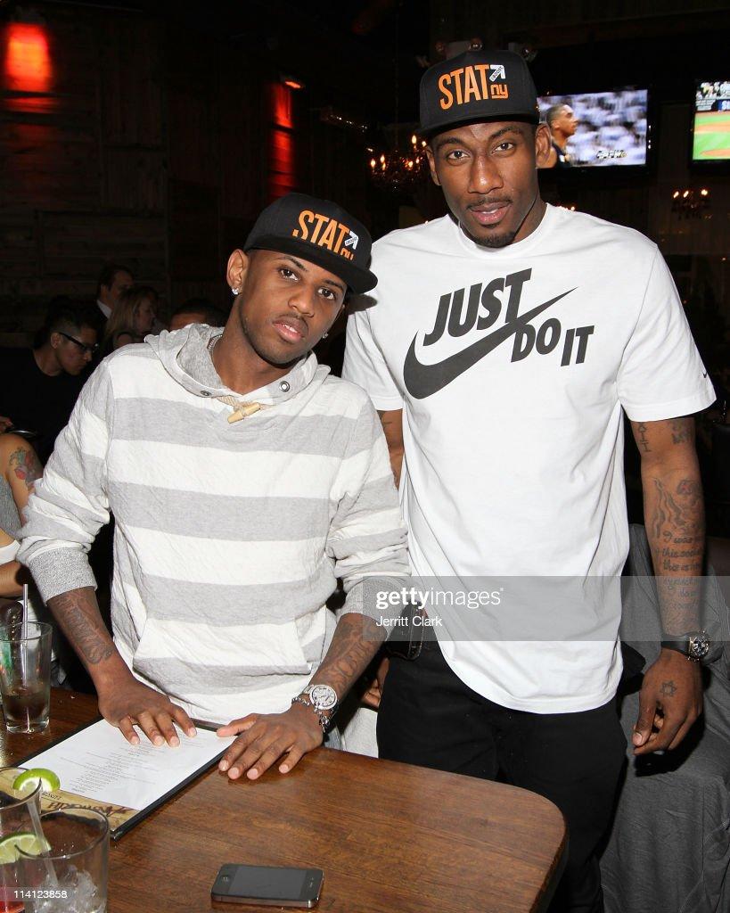 Fabolous & Amar e Stoudemire Watch The Boston Celtics Vs The Miami