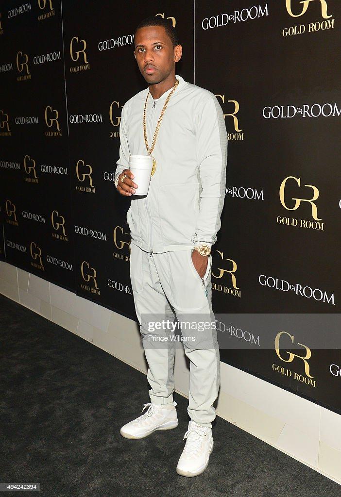 Rapper Fabolous attends Gold Room on October 22, 2015 in Atlanta, Georgia.