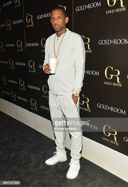 Rapper Fabolous attends Gold Room on October 22 2015 in Atlanta Georgia