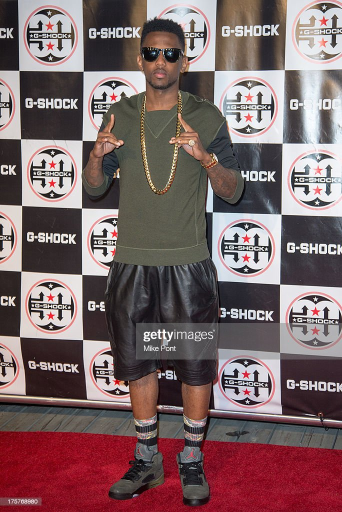 Rapper Fabolous attends G-Shock - Shock The World 2013 at Basketball City - Pier 36 - South Street on August 7, 2013 in New York City.