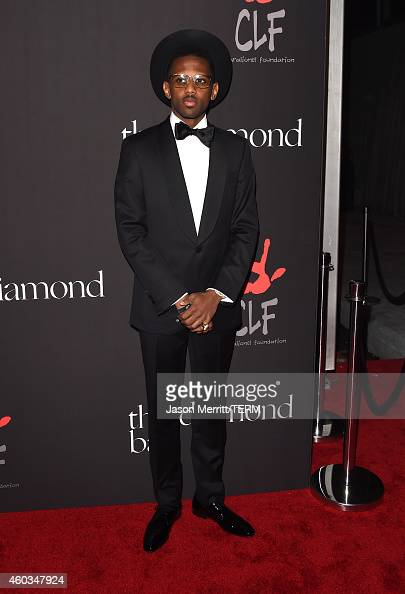 Rapper Fabulous attends The Inaugural Diamond Ball presented by Rihanna and The Clara Lionel Foundation at The Vineyard on December 11 2014 in...