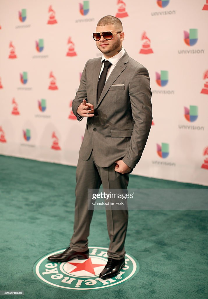 Rapper Farruko attends the 15th Annual Latin GRAMMY Awards at the MGM Grand Garden Arena on November 20, 2014 in Las Vegas, Nevada.