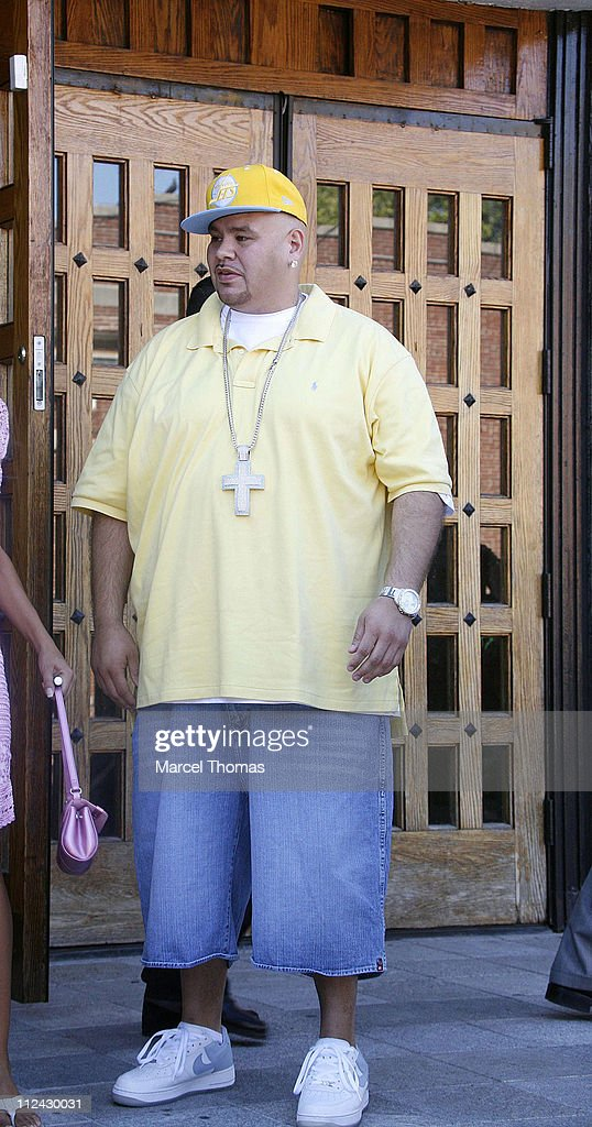 Rapper Fat Joe during 'The Sopranos' On Location in New York City - August 21, 2006 at St Rita's Church in New York City, Queens, United States.