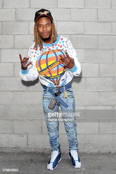 Rapper Fetty Wap attends Fashion and Beauty @BETX presented by Pantene during the 2015 BET Experience at the Los Angeles Convention Center on June 27...