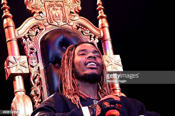Rapper Fetty Wap performs onstage during 1051's Powerhouse 2015 at the Barclays Center on October 22 2015 in Brooklyn NY