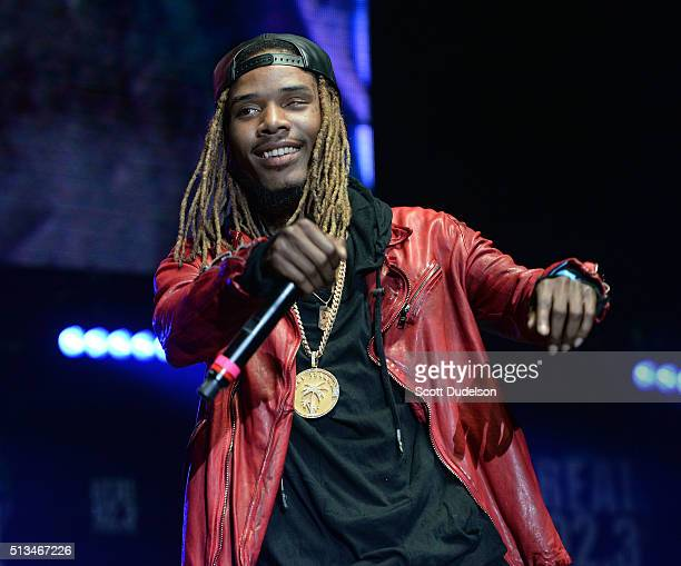 Rapper Fetty Wrap performs onstage at The Forum on February 28 2016 in Inglewood California