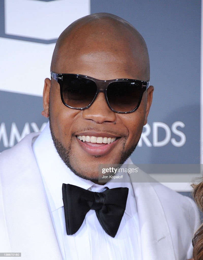 Rapper Flo Rida arrives at 54th Annual GRAMMY Awards held the at Staples Center on February 12, 2012 in Los Angeles, California.