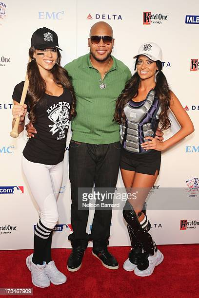 Rapper Flo Rida attends Major League Baseball's All Star Bash Presented By MLBcom Delta And Nivea on July 15 2013 in New York City
