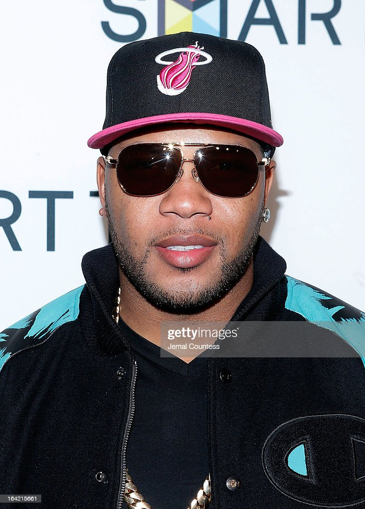 Rapper Flo Rida attends The Samsung Spring 2013 Launch at Museum Of American Finance on March 20, 2013 in New York City.
