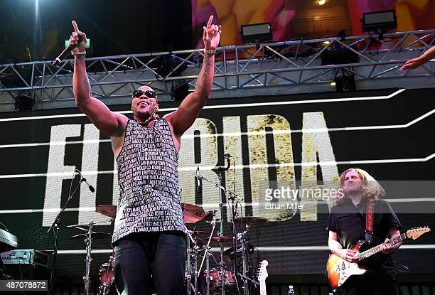 Rapper Flo Rida performs as part of The Road to Life is Beautiful Summer Concert Series at Foxtail Pool at SLS Las Vegas on September 5 2015 in Las...