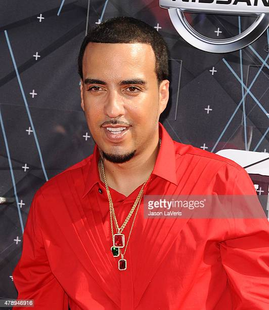 Rapper French Montana attends the 2015 BET Awards at the Microsoft Theater on June 28 2015 in Los Angeles California