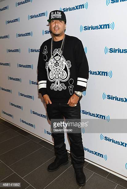 Rapper French Montana visits SiriusXM Studios on October 30 2014 in New York City