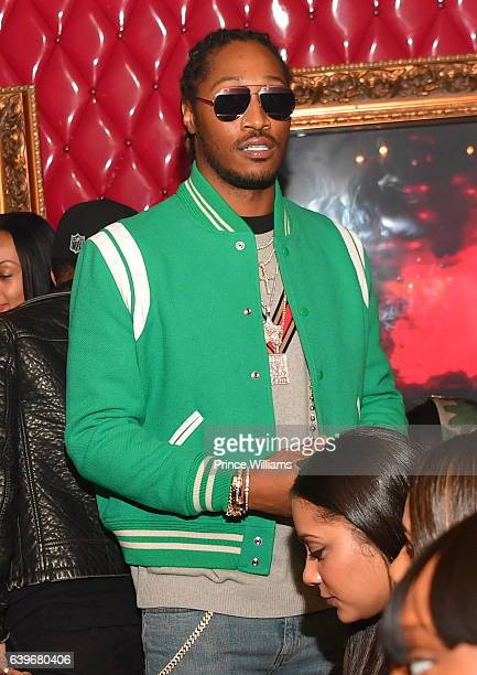 Rapper Future attends a Party at compound Nightclub on January 22 2017 in Atlanta Georgia
