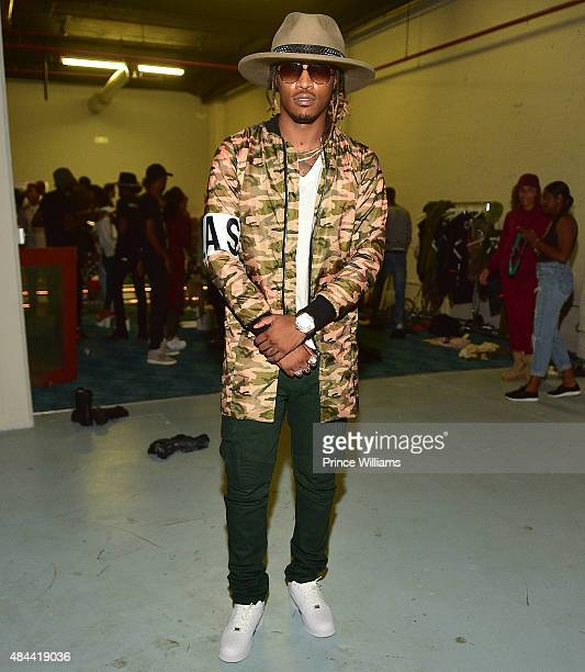 Rapper Future attends Cease And Desist Fashion Presentation on August 13 2015 in Atlanta Georgia