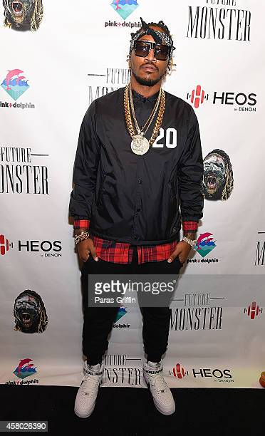 Rapper Future attends Future Monster Halloween Costume Party at Tree Sound Studios on October 28 2014 in Norcross Georgia