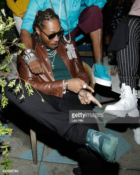 Rapper Future attends the Flaunt and Reebok 'The Eternal Issue' celebration hosted by Future at Sixty Hotel Soho on September 8 2017 in New York City