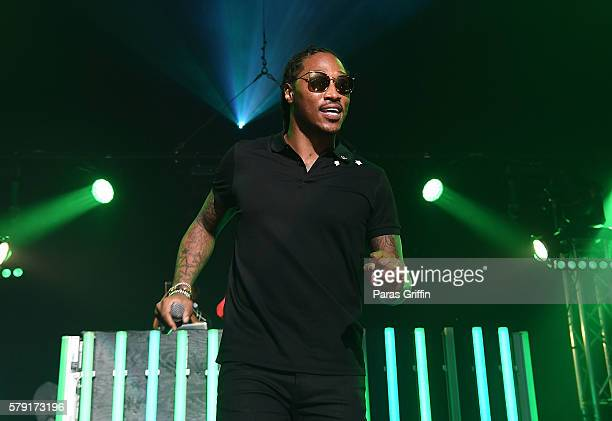 Rapper Future performs on stage at Gucci and Friends Homecoming Concert at Fox Theatre on July 22 2016 in Atlanta Georgia