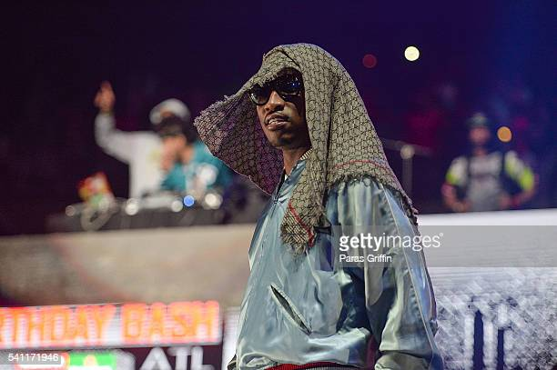 Rapper Future performs onstage at Hot 1079 Birthday Bash at Philips Arena on June 18 2016 in Atlanta Georgia