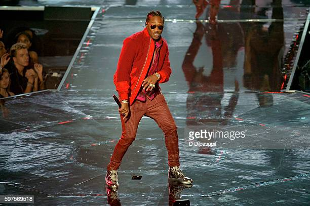 Rapper Future performs onstage during the 2016 MTV Video Music Awards at Madison Square Garden on August 28 2016 in New York City