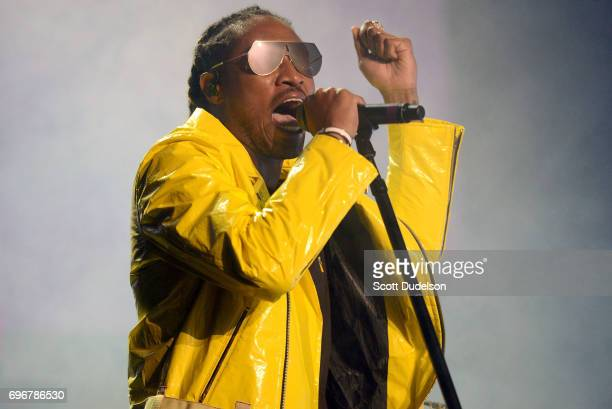 Rapper Future performs onstage during the 'Nobody Safe' tour at The Forum on June 14 2017 in Inglewood California