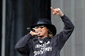 Rapper 'Future' real name Nayvadius DeMun Wilbur performs during the Governors Ball Music Festival on Randall's Island Park in New York on June 5...