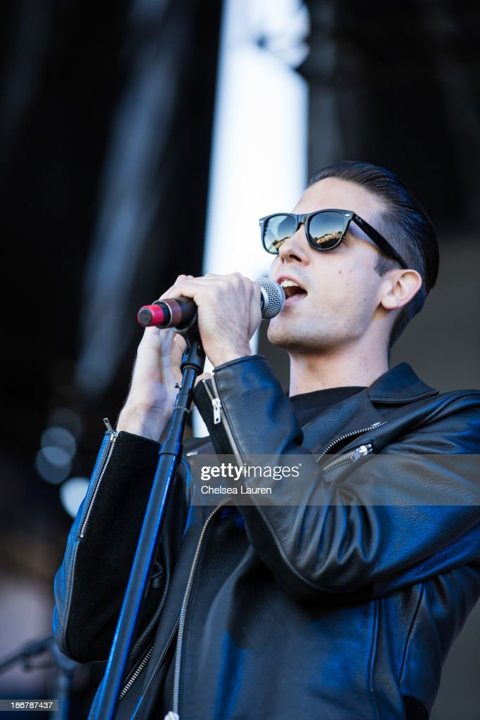 Rapper GEazy performs at the 2013 Voodoo Music Arts Experience at City Park on November 3 2013 in New Orleans Louisiana
