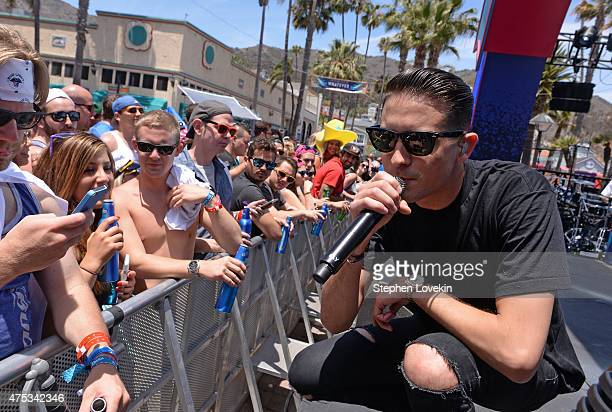 Rapper GEazy performs during Whatever USA on May 30 2015 in Catalina Island California Bud Light invited 1000 consumers to Whatever USA for a weekend...