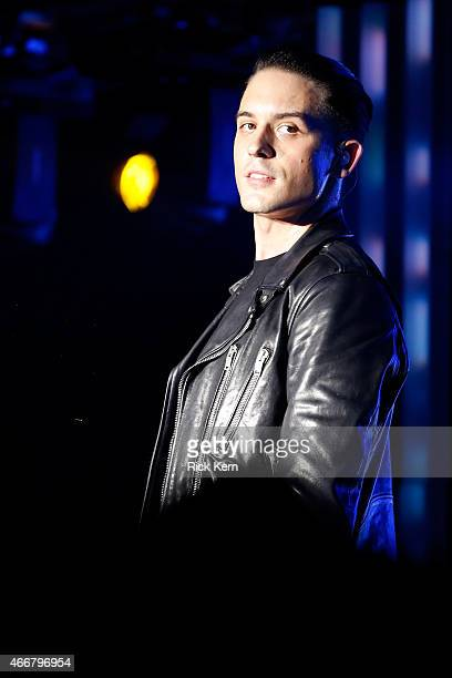 Rapper GEazy performs onstage at the Samsung Milk Music Lounge featuring Iggy Azalea on March 18 2015 in Austin Texas