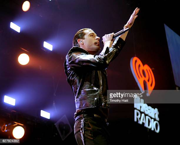 Rapper GEazy performs onstage during 1013 KDWB's Jingle Ball 2016 presented by Capital One at Xcel Energy Center on December 5 2016 in St Paul...