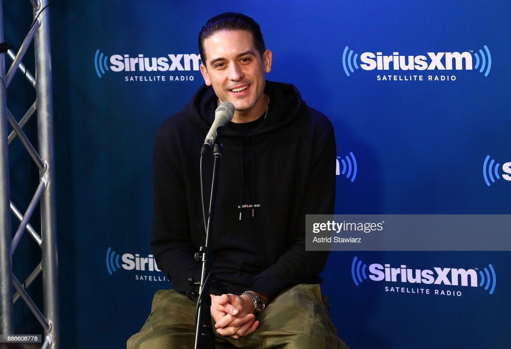 Rapper G-Eazy premieres his new album 'The Beautiful & Damned' on SiriusXM's Shade 45 channel on December 5, 2017 in New York City.