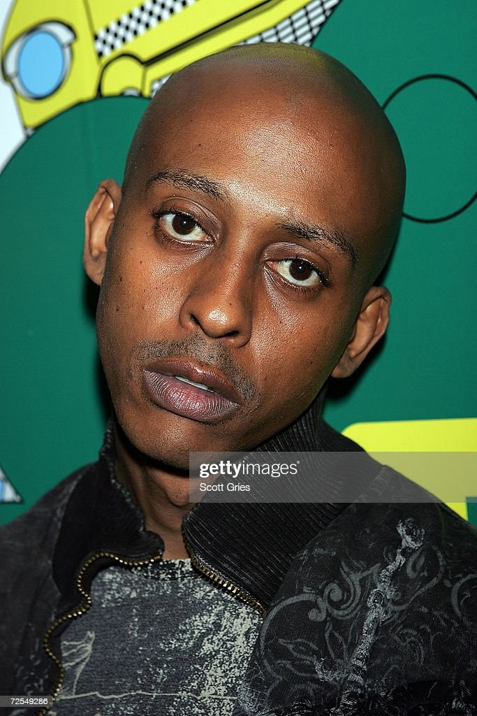 Rapper Gillie Da Kid poses for a photo backstage during a taping of MTV 'Sucker Free' at the MTV Times Square Studios on November 14 2006 in New York...