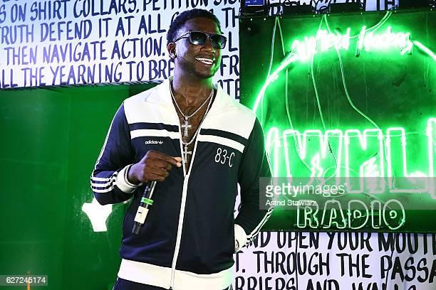 Rapper Gucci Mane performs at Public School And The Confidante Present WNL Radio at The Confidante on December 2 2016 in Miami Beach Florida