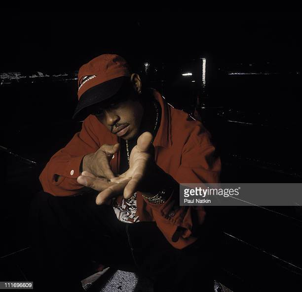 Rapper Guru of Gang Starr poses at Metro on October 23 1993 in Chicago Illinois