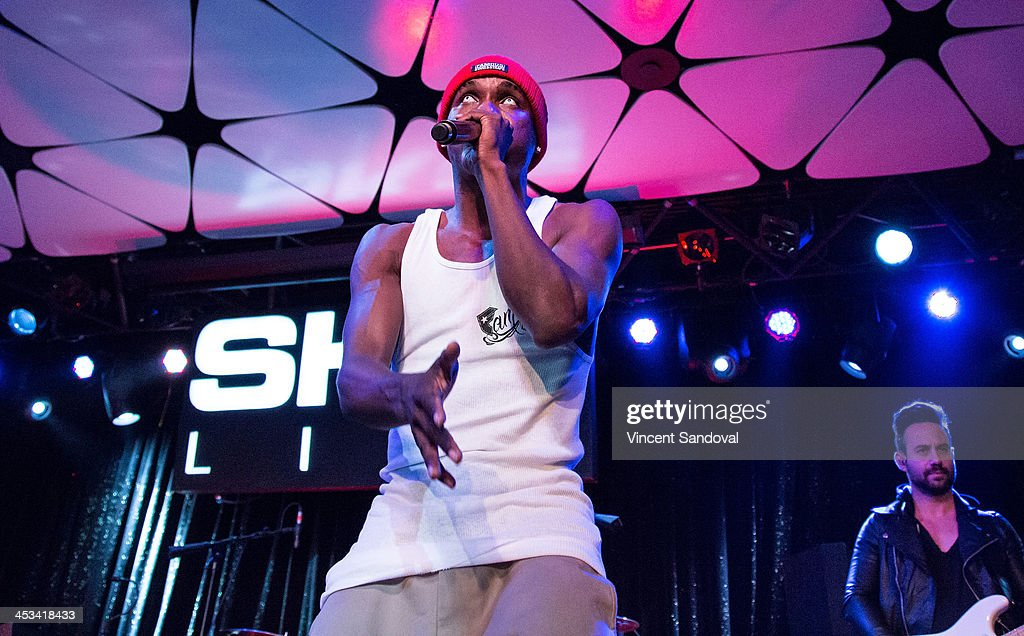 Rapper Hopsin Performs During SKEE Live At The Conga Room At L.A. Live On  December 3