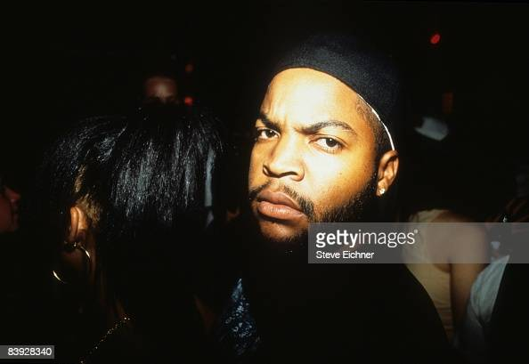 Rapper Ice Cube at New York's Wetlands 1990s
