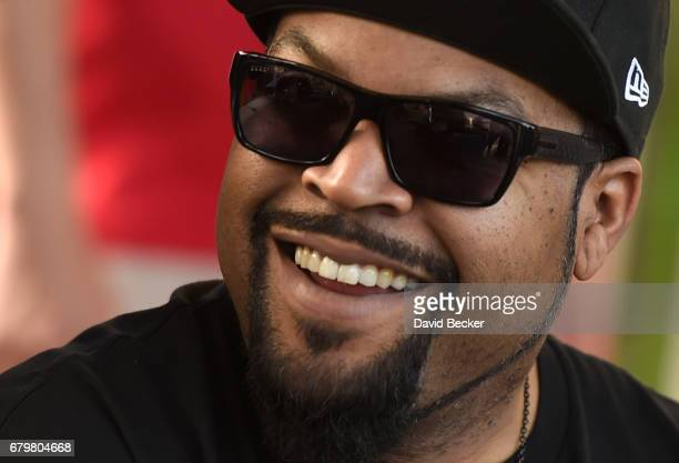 Rapper Ice Cube attends Daylight Beach Club at the Mandalay Bay Resort and Casino on May 6 2017 in Las Vegas Nevada
