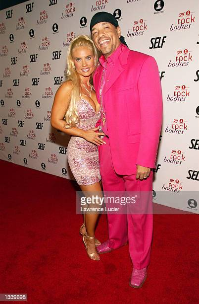 Rapper Ice T and his companion Coco arrive at the party for SELF magazine's September feature and VH1's premiere of All Access Rock Bodies on August...