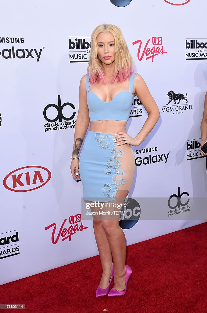 Rapper Iggy Azalea attends the 2015 Billboard Music Awards at MGM Grand Garden Arena on May 17 2015 in Las Vegas Nevada