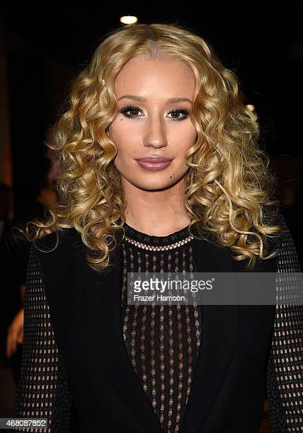 Rapper Iggy Azalea attends the 2015 iHeartRadio Music Awards which broadcasted live on NBC from The Shrine Auditorium on March 29 2015 in Los Angeles...